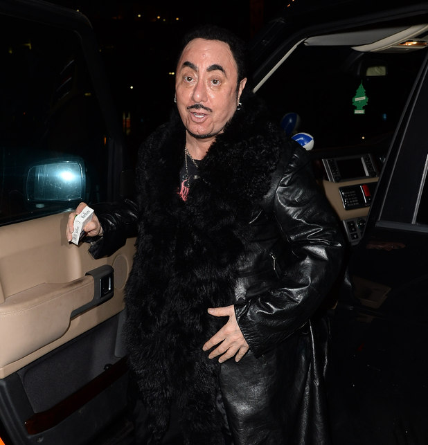 David Gest at the Soul Legends' event to benefit the Mood Swings charity, at the Midland Hotel, Manchester - 18 October 2014.