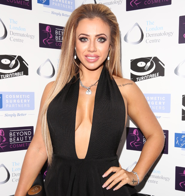 Holly Hagan, Misfits Management and Bold Management Christmas Party at Turntable, 8 December 2015