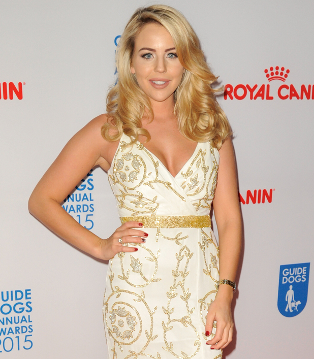 Lydia Bright at the Guide Dogs For The Blind Association annual awards 2015. 9 December 2015.