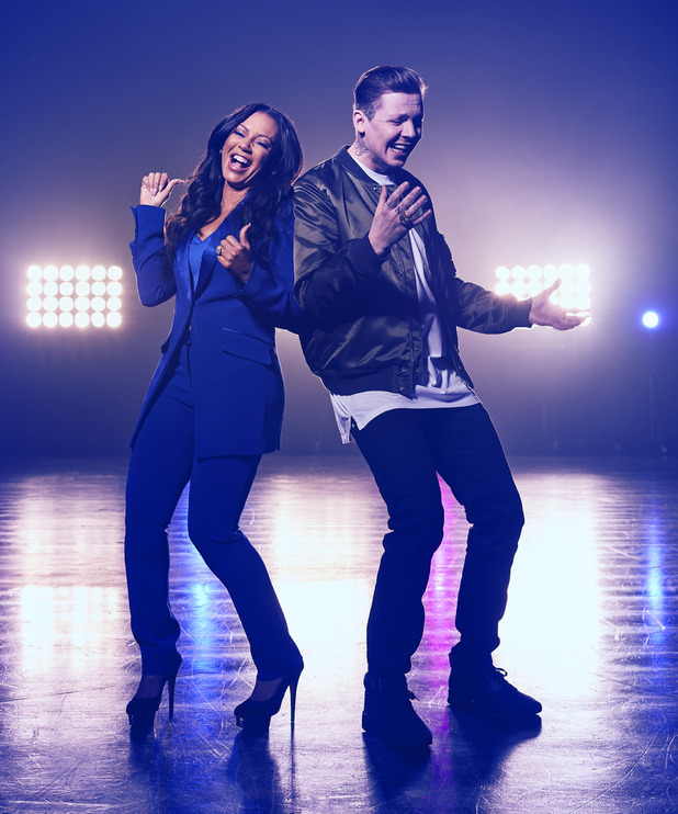 Mel B and Professor Green are hosts of Channel 5's Lip Sync Battle UK.