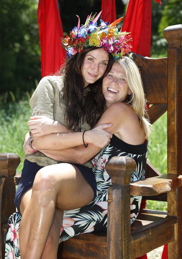 I'm A Celebrity...Get Me Out Of Here!' TV Show, Australia: Vicky Pattison with her mum Carol - 06 Dec 2015