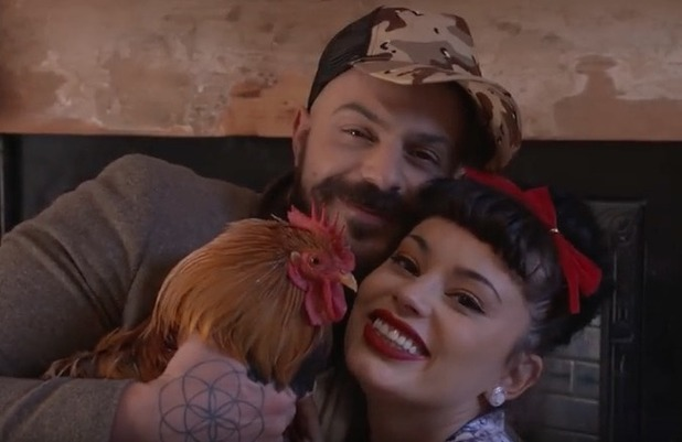 Abz Love and Vicky Fallon in new video for single Cockadoodledo - 30 Dec 2015