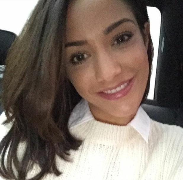 Frankie Bridge Instagram selfie, 27/12/15