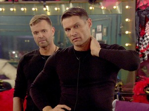 CBB: John Partridge and Darren Day in the house. 7 January 2016.