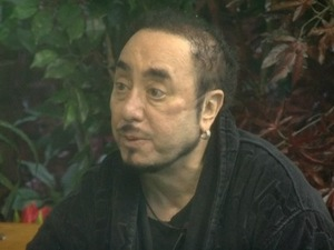 CBB: David Gest speaking to Christopher about plastic surgery in the garden. 7 January 2016.