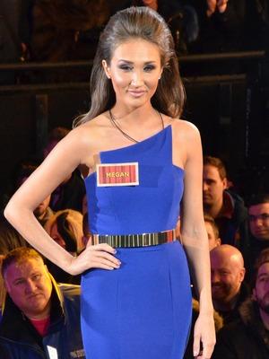 Celebrity Big Brother Launch - Megan McKenna. 5 January 2015.