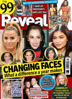 Reveal Magazine issue one cover for 2016
