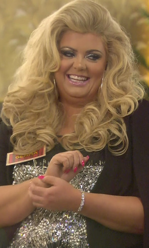 CBB: Gemma Collins and Danniella Westbrook in the Celebrity Big Brother house. 5 January 2016.