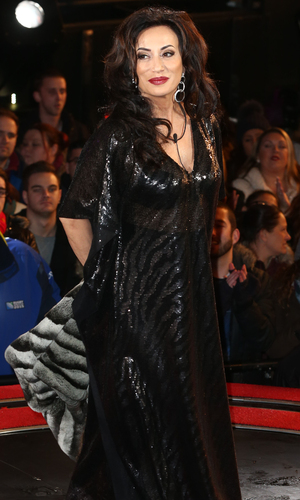 Celebrity Big Brother Launch - Nancy Dell'Olio 5 January 2015.