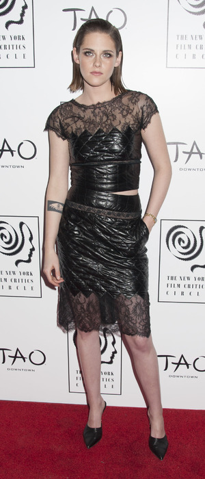 Kristen Stewart attends the 2016 New York Film Critics Circle Awards at TAO Downtown, 4th January 2016
