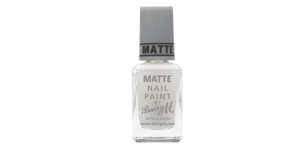 Barry M Matte Topcoat £2.99, 5th January 2015