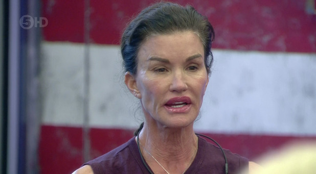 Janice Dickinson on Celebrity Big Brother. Broadcast on Channel 5 HD. 19/9/2015.