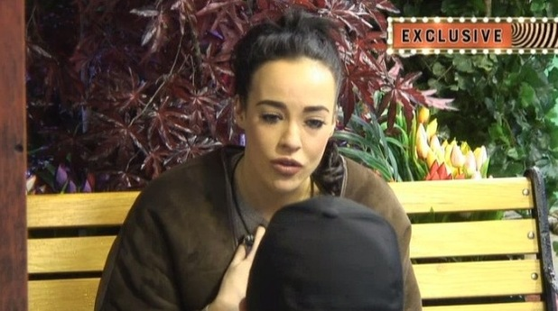 CBB: Stephanie confides in Danniella. (Shown on Bit On The Side). 8 January 2016.