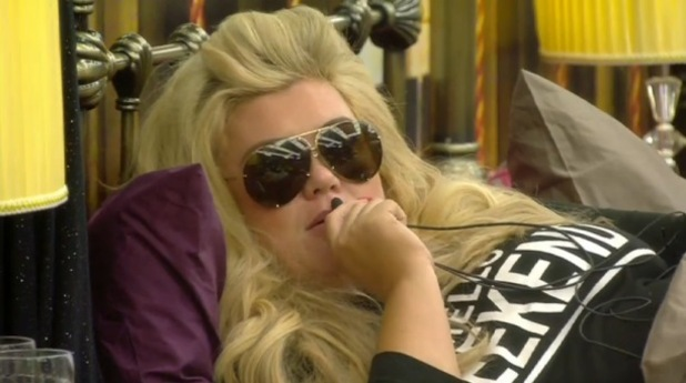 Gemma Collins moans to Big Brother about housemates snoring, CBB 7 January 2016