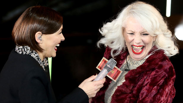 Celebrity Big Brother Launch - Angie Bowie. 5 January 2015.
