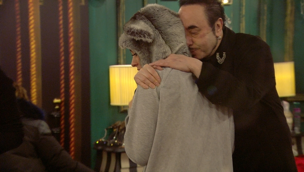 David Gest in the CBB house, 09 January 2016.