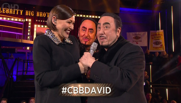 Celebrity Big Brother Launch - David Gest. 5 January 2015.