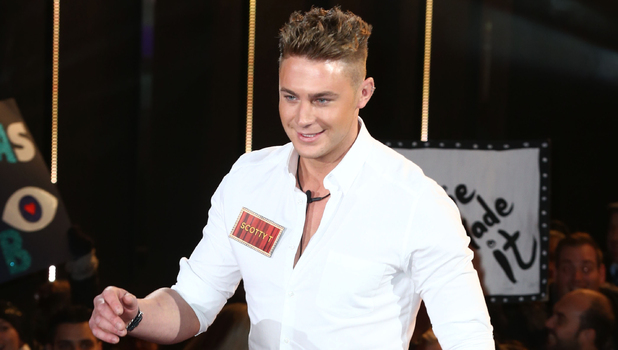 Celebrity Big Brother Launch - Scotty T. 5 January 2015.