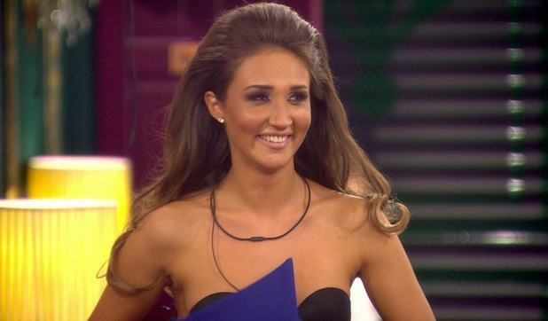 Celebrity Big Brother - Megan in the living room. 6 January 2016. Broadcast on Channel 5