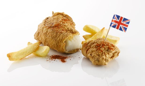 British people love fish and chips
