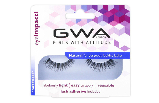 Girls With Attitude Heart Stopper Lashes £4.99, 6th January 2016
