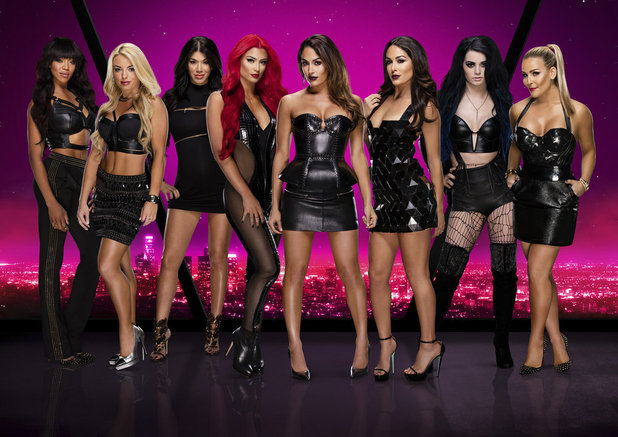 Total Divas promo shot for series five, E! 24 January