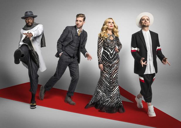 The Voice UK, will.i.am, Ricky Wilson, Paloma Faith, Boy George, Sat 9 Jan