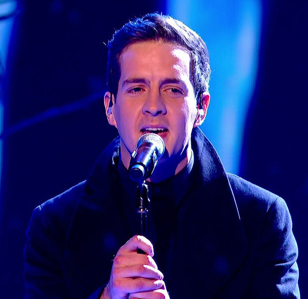 Stevie McCrorie performing 'I'll Stand By You' on the final of 'The Voice' - 04/04/2015.