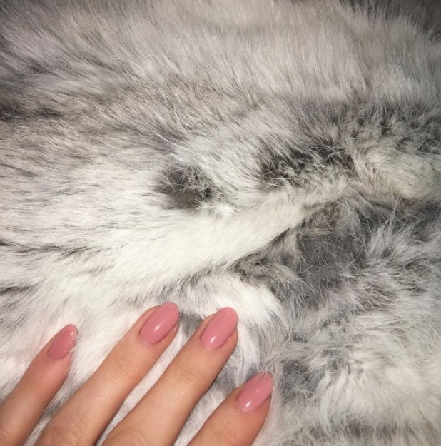 Kylie Jenner shares picture of pink nails on Instagram, 7th January 2016