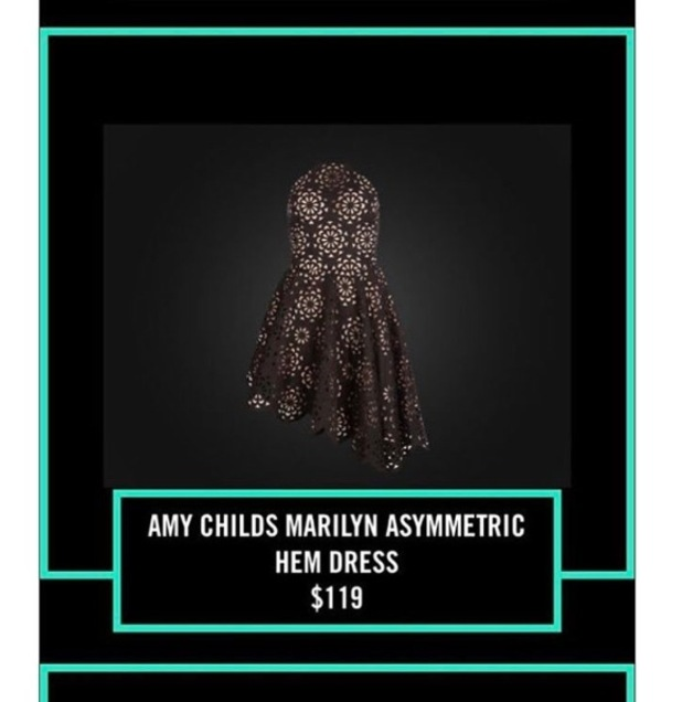 Kylie Jenner features Amy Childs collection dress on her app, 5th January 2016
