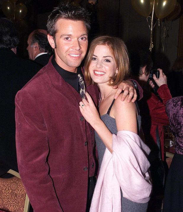 Darren Day and Isla Fisher pictured when they were dating in 1998 December 1998