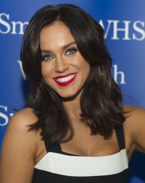 Vicky Pattison attends book signing at WHSmiths 19 December 2015