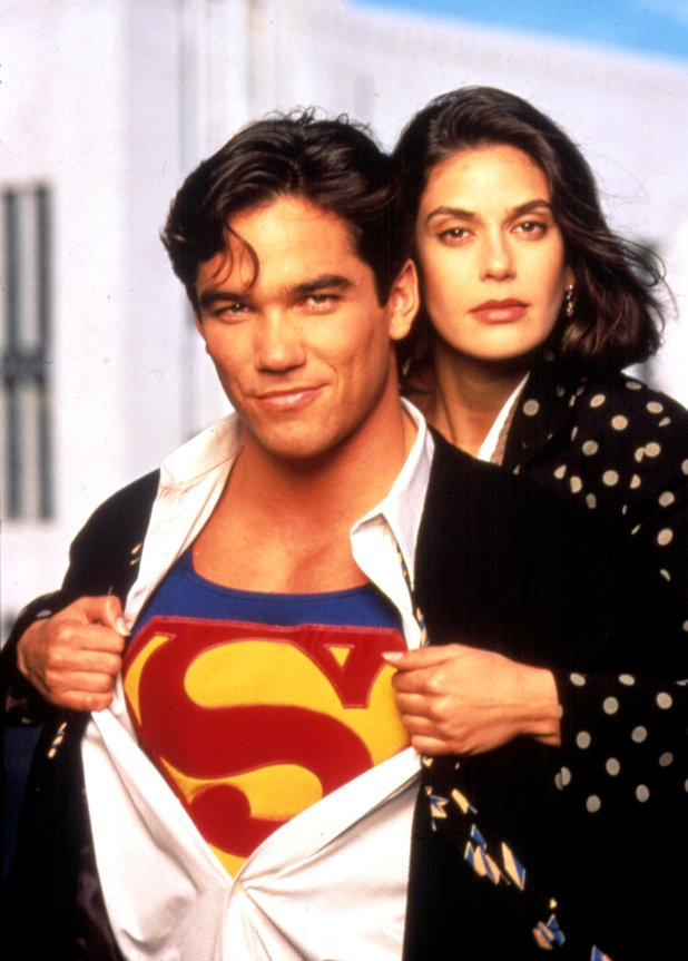 Teri Hatcher and Dean Cain - 'Lois and Clark : the New Adventures of Superman' TV Show-1993-97