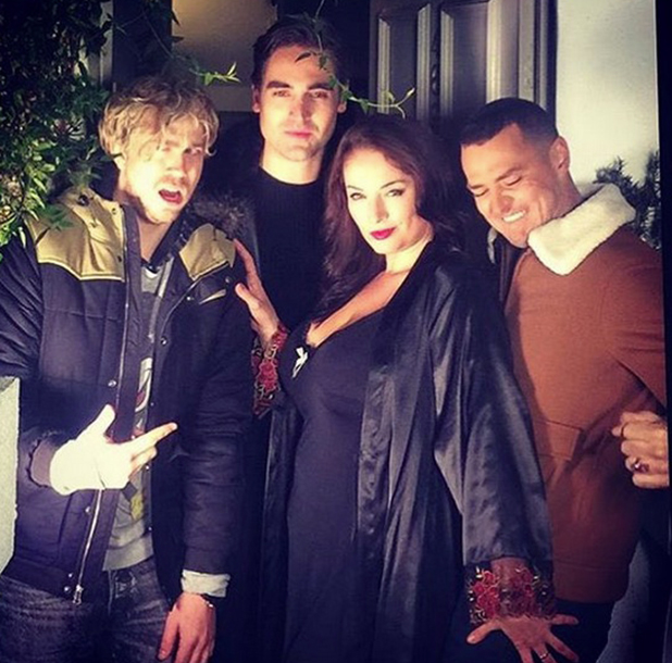 Busted reunite with Miss McKenzie for new video, January 2016