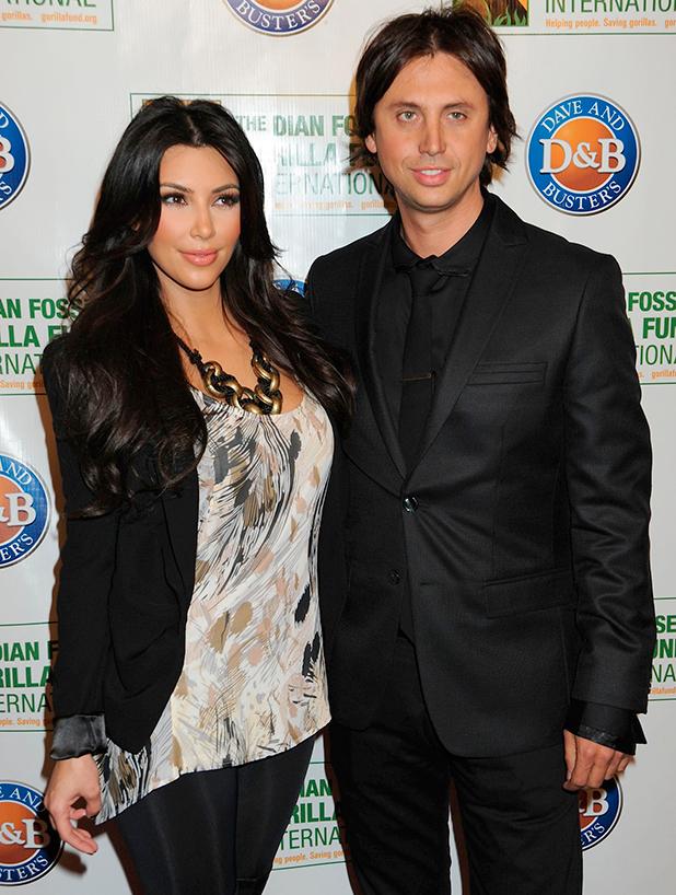 Kim Kardashian, Jonathan Cheban 2010 Celebrity Skee Ball Tournament to benefit The Dian Fossey Gorilla Fund International, held at Dave & Buster's Time Square