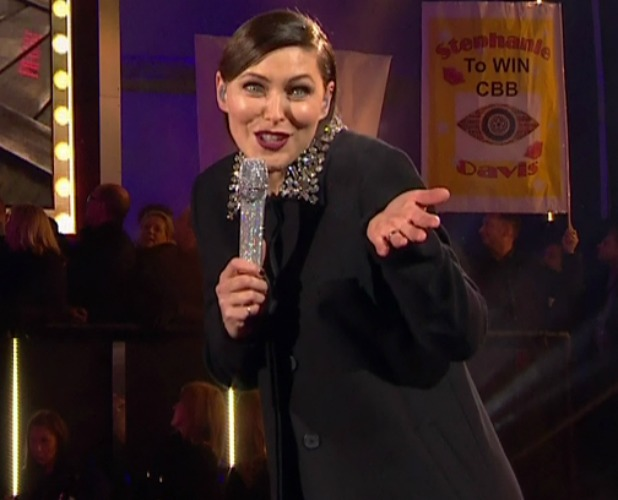 Celebrity Big Brother Launch. Broadcast on Channel 5 HD Emma Willis