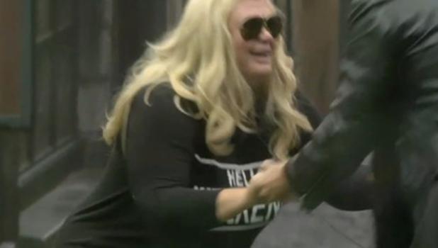 CBB: Jonathan Cheban teaches Gemma Collins how to squat like a Kardashian 8 Jan 2016