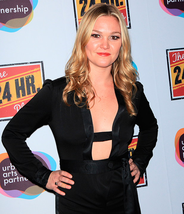 The 24 Hour Plays on Broadway Julia Stiles 11/16/2015