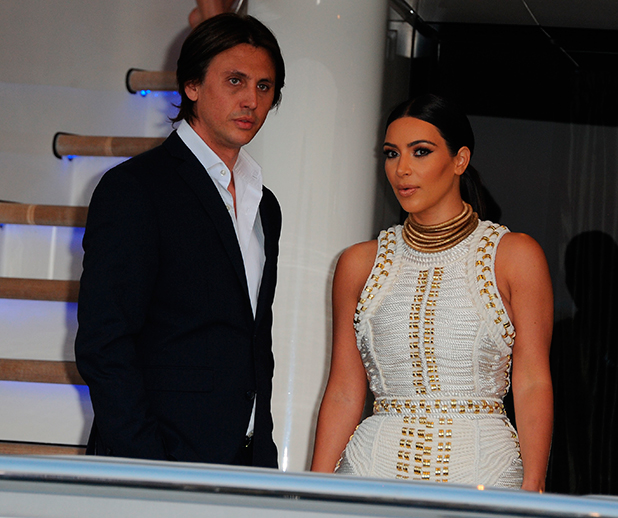 Newlywed Kim Kardashian attends MailOnline's yacht party during Cannes Lions 2014