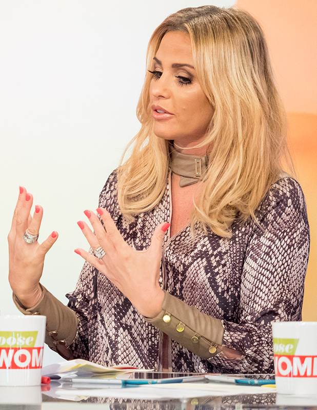 'Loose Women' TV show, London, Britain - 05 Jan 2016 Katie Price