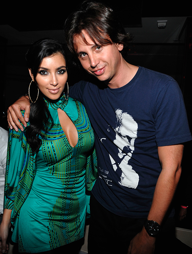 Kim Kardashian and Jonathan Cheban arrive at Victorias Secret Show after party >> at LIV at Fontainebleau on November 14, 2008 in Miami Beach, Florida (Photo by Dimitrios Kambouris/WireImage)
