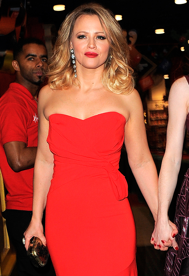 Elf The Musical afterparty at Hamley's - Departures Kimberley Walsh