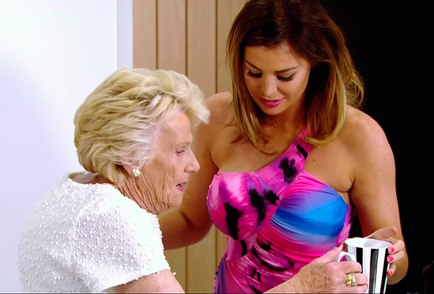 Carol and Nanny Pat go round to see Jess's new flat on 'The Only Is Way Essex', Shown on ITV2 HD