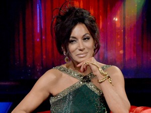 Nancy Dell'Olio leaves CBB, 15 January 2016.