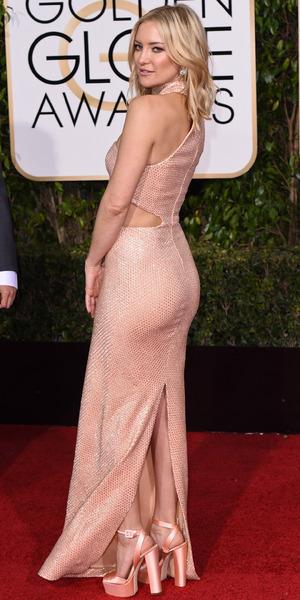 Kate Hudson, 73rd Annual Golden Globe Awards, Arrivals, Los Angeles, America - 10 Jan 2016