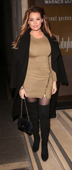 TOWIE's Jess Wright at Britain's Next Top Model Launch Party in London, 15th January 2016