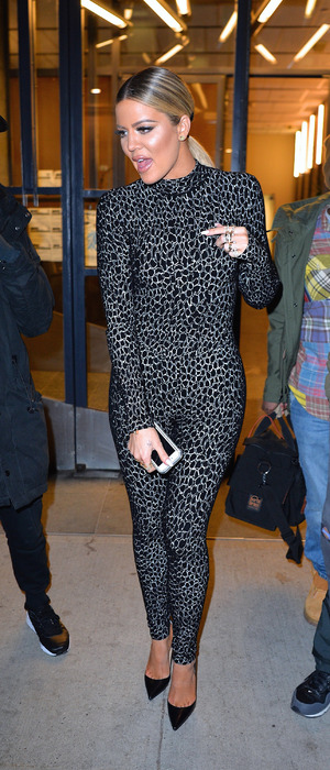 Khloe Kardashian out and about in New York City, 14th January 2016