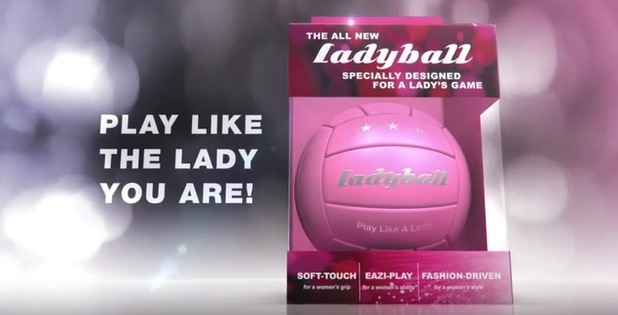 The Ladyball is possibly the most sexist invention of 2016