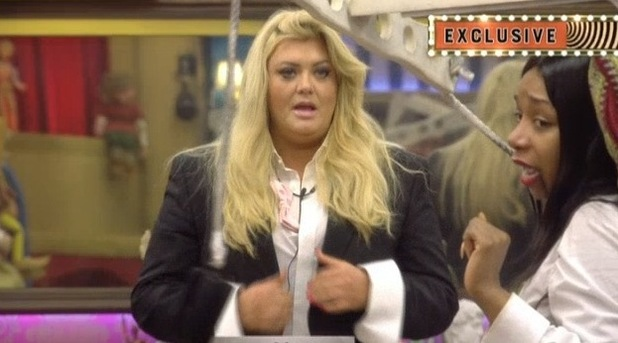 CBB: Tiffany slams Gemma during puppet task over shoes comment. 13 January 2016.