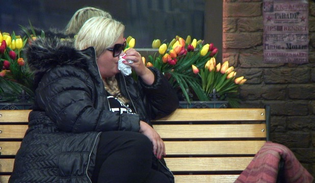 CBB: Gemma in tears after Jonathan quits 12 January 2016